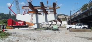 Greensburg Pike Bridge Construction Management