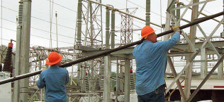 Electric Power Substation Upgrade Structure Retrofits