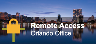 Remote Access: Orlando Office