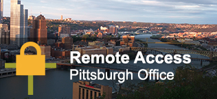 Remote Access: Pittsburgh Office