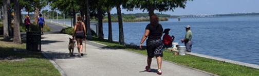 Sandford Riverwalk trail