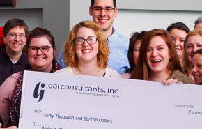 GAI raises $40,000 for Make-A-Wish America