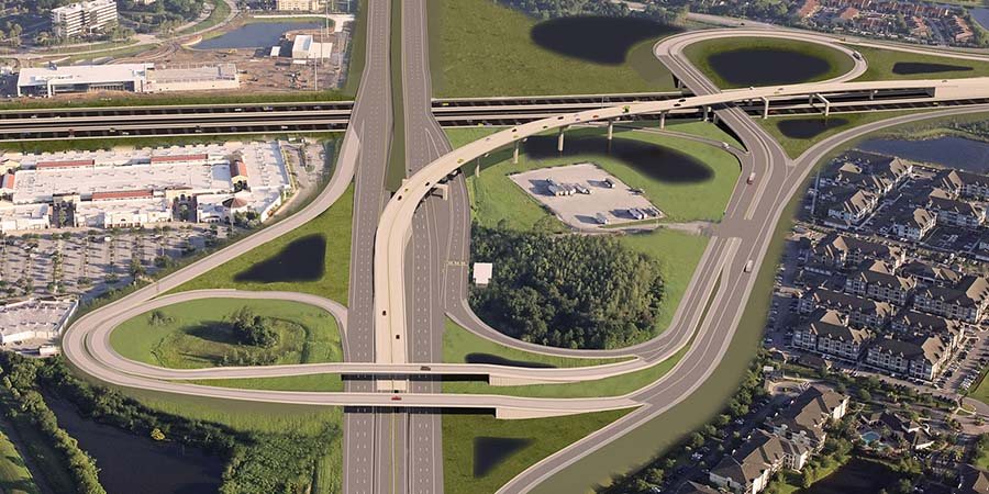 I-4 and Florida's Turnpike Mainline Design-Build - GAI