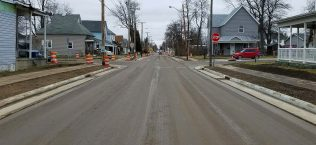 1st Street Reconstruction and Widening