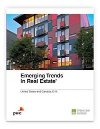 The ULI/PwC study offers in-depth info on real estate development trends.