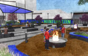 Huntington approves $1.293 million contract to begin arena plaza renovations