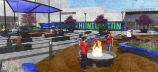 Huntington Civic Arena Entrance Plaza Renovation