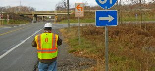 Interstate 81, Section D52 Replacement of Four Bridges