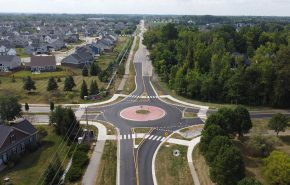 Roundabouts: Safe Intersection Solution for Tight Spaces & Budgets